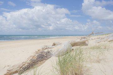 Zee en strand van Danny Vandebosch