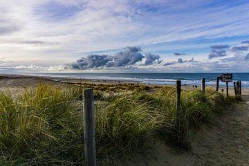 Strandeingang bei den Dünen von Kijkduin von Ricardo Bouman