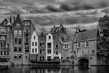 Delfshaven, Rotterdam, The Netherlands, B/W van Maarten Kost