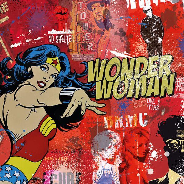 Wonder Woman von Rene Ladenius Digital Art