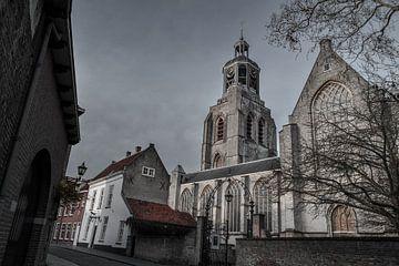 Sint-Gertrudiskerk (peperbus) in Bergen op Zoom von Kim de Been