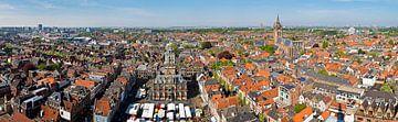 Panorama Delft sur Anton de Zeeuw