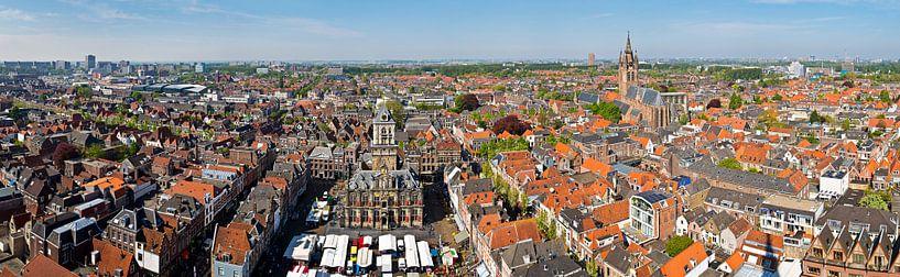Panorama Delft von Anton de Zeeuw