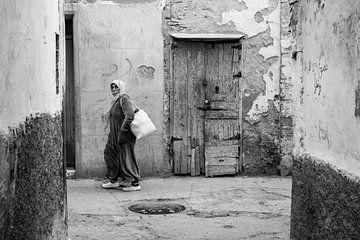 Straßenfotografie in Essaouira von Ellis Peeters