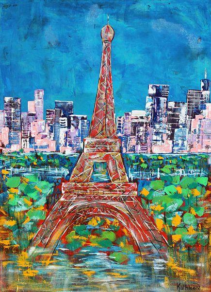 Der Eiffelturm von Kathleen Artist Fine Art