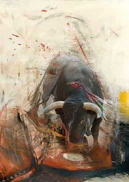 stop stieren vechten van Dray van Beeck