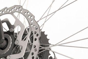 Nahaufnahme eines Fahrrads von Andreas Föll