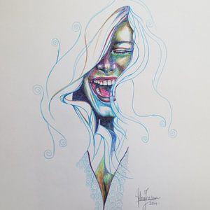 lach je hardste lach van