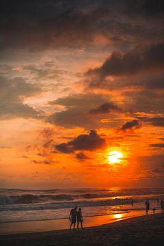 Berawa, Canggu zonsondergang van