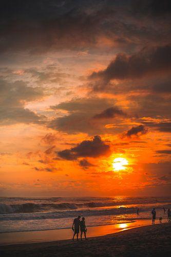 Berawa, Canggu zonsondergang van Andy Troy