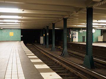 Wittenbergplatz metrostation Berlijn van Jeroen Götz
