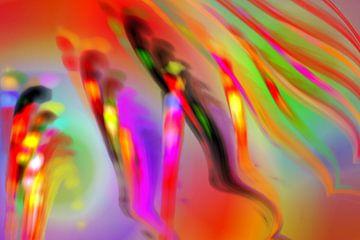 Ein Volk von Pinsel und Farben van Harry Ucksche