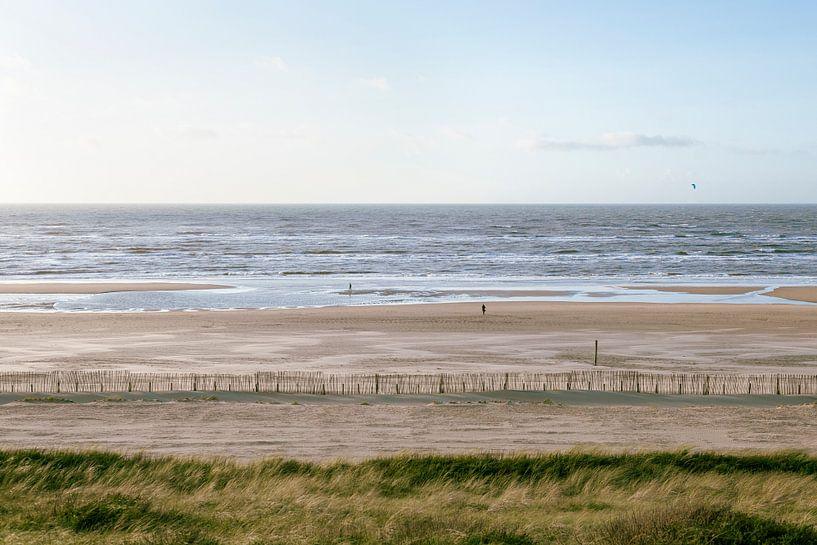 Kustlijn Zandvoort van Koen van der Lee