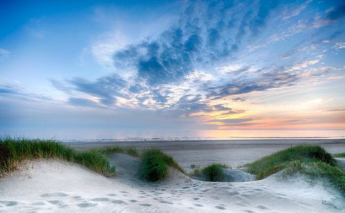 Strand Egmond Binnen.