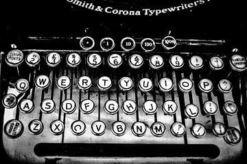 antike Schreibmaschine von eric van der eijk