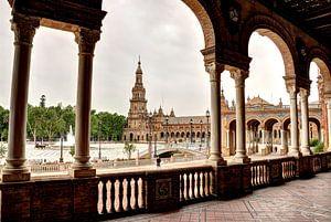 Plaza de España van