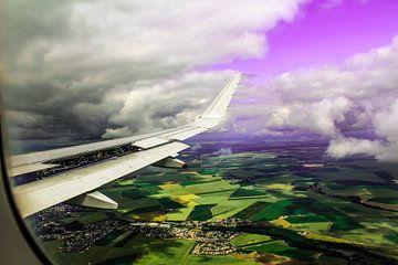 Vliegtuig van Gabriella Sidiropoulos