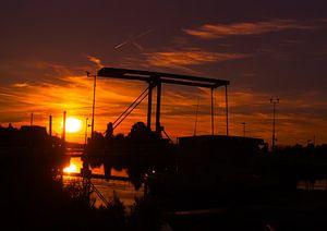 Een gouden zonsondergang van SoGo Fotografie