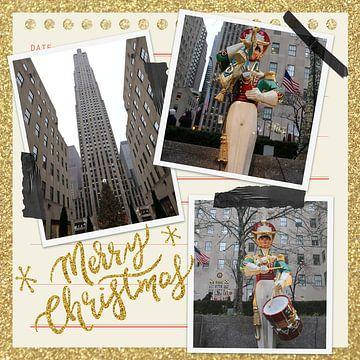Frohe Weihnachten vom Rockefeller Plaza in NYC