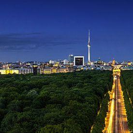 Berlin Skyline Panorama von Frank Herrmann