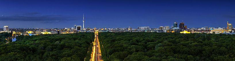 Panorama de la Skyline de Berlin sur Frank Herrmann