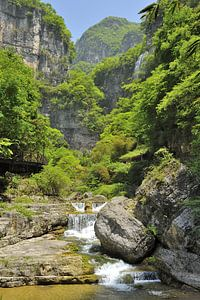 Waterval in China