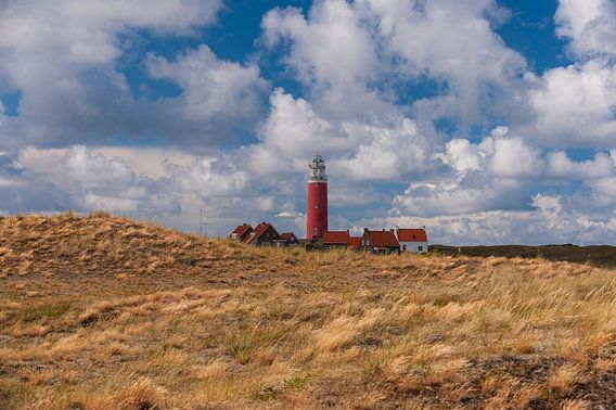 Eierland Vuurtoren op Texel 2 van Brian Morgan