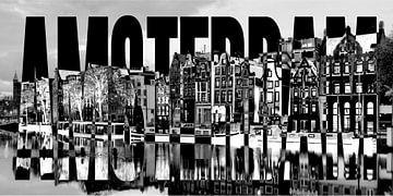 Amsterdam harbor canals sur Bass Artist