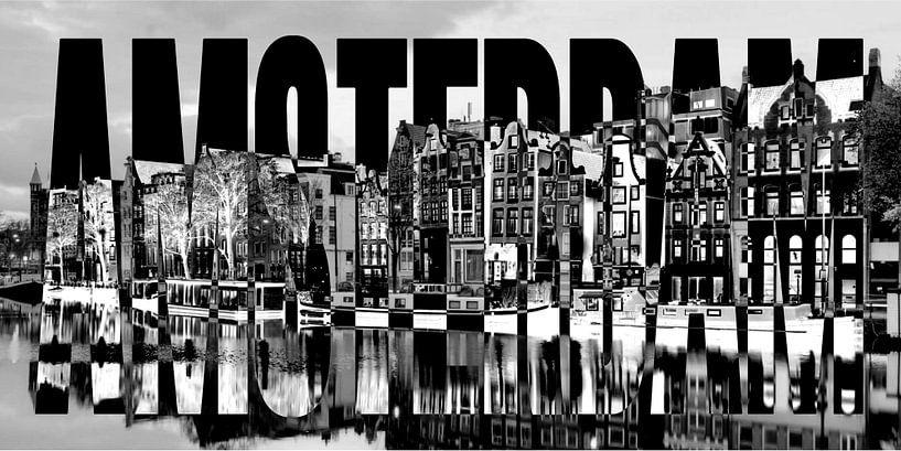 Amsterdam Hafen Grachten von Bass Artist