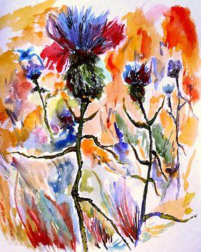 Summer Impressionism van Eberhard Schmidt-Dranske