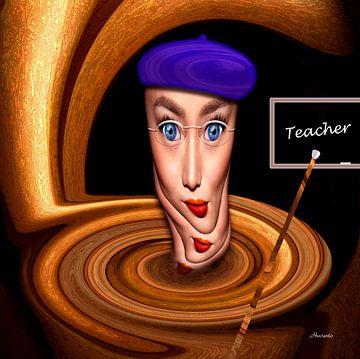 Lerares van Ton van Hummel (Alias HUVANTO)