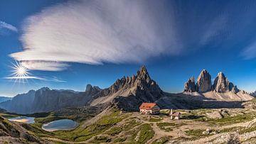 Drei Zinnen Panorama von Achim Thomae