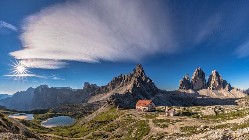 Drie pieken Panorama van Achim Thomae