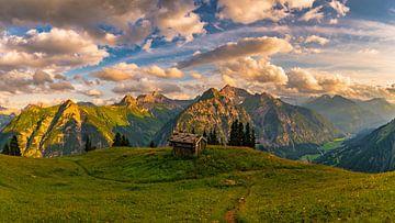 Ambiance de soirée dans la Vallée du Lech sur MindScape Photography