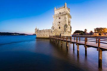 Torre de Belém in Lissabon von