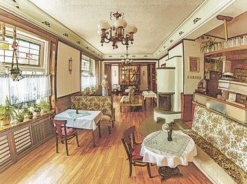Het oude café van Johnny Flash
