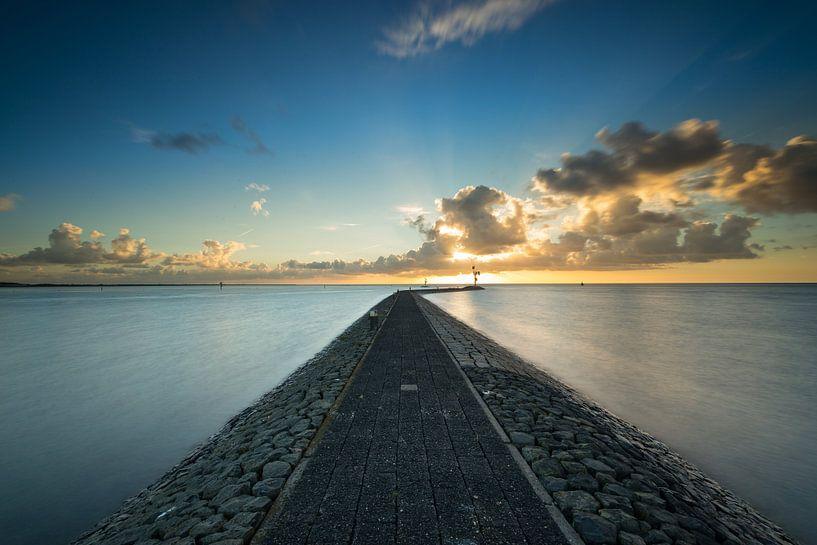 Terschelling bij zonsopkomst - 7 van Damien Franscoise
