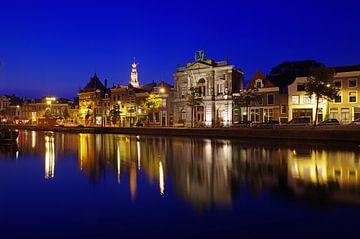 Blick auf das alte Zentrum von Haarlem von Reinhard  Pantke