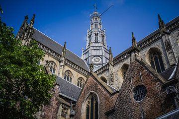Grote kerk, Haarlem centrum (Holland) van ErikJan Braakman