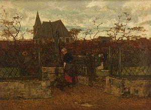 Ein Bleichfeld, Jacob Maris.