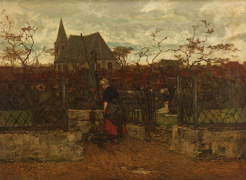 Ein Bleichfeld, Jacob Maris. von Meesterlijcke Meesters