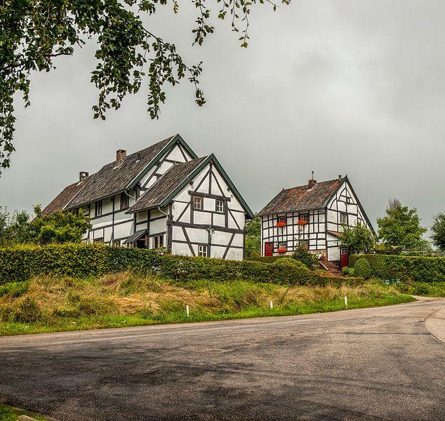 Vakwerkhuisjes Zuid- Limburg van John Kreukniet