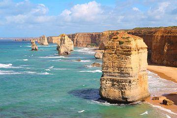Die zwölf Apostel an der Great Ocean Road in Australien von Ines Porada