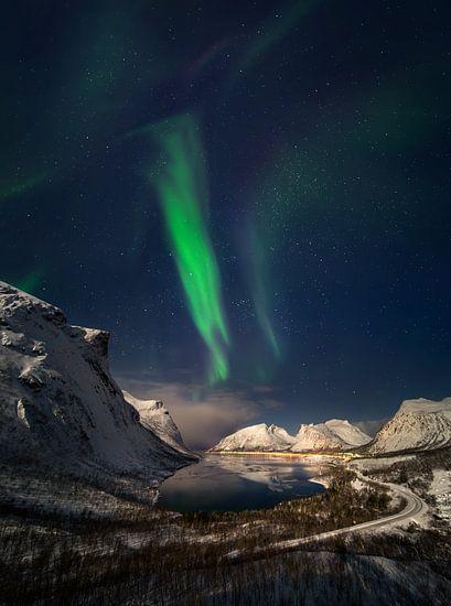 Aurora über Bergsbotn