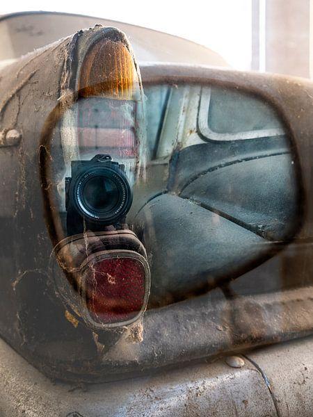 Spiegelende Volvo van Sense Photography