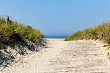 Zugang zum Strand von Christoph Schaible