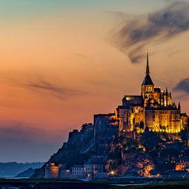 Bedevaartsoord Mont Saint Michel von Roy Poots