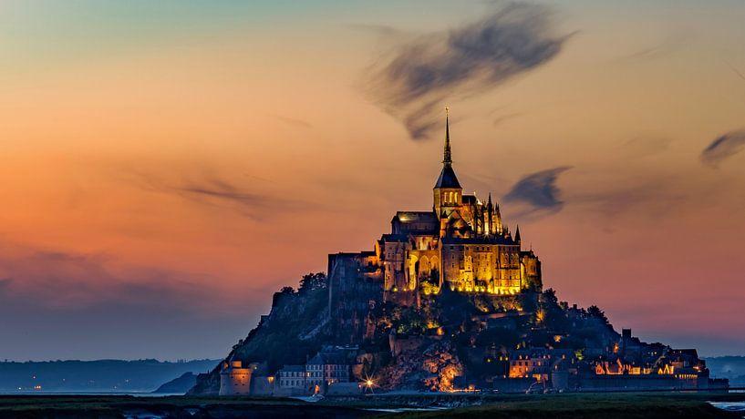 Bedevaartsoord Mont Saint Michel van Roy Poots