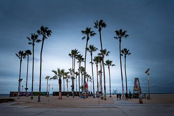 Venice beach van Keesnan Dogger Fotografie