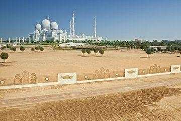 Sheikh Zayed Moschee, Abu Dhabi, Vereinigte Arabische Emirate von Tjeerd Kruse